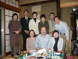 2007.3.28 神渡先生を囲んでの食事会
