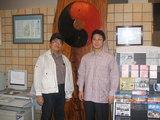 斉藤さん&ウメサン in 入野谷の学習センター