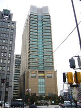 ペニンシュラホテル東京 全景