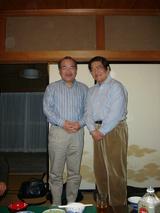 2007.3.28 神渡良平先生とケロケロウメサン