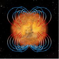 太陽磁場(4極構造)