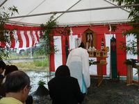 2010.6.29 11:04過ぎより地鎮祭