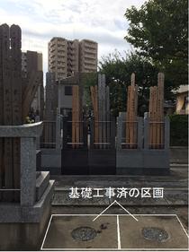 墓石建立の基礎工事における風水師の憂いと願い