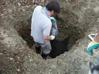 ~2010.6.29 11:04より、福井県T様邸の地鎮祭&氣場改良工事を行いました(後編)~