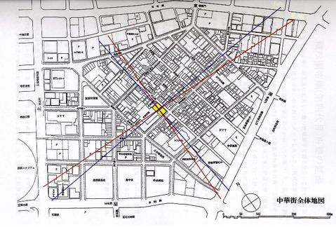 横浜中華街全体地図