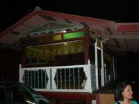 マレー人の典型的な家屋のテラス部分