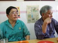 28 劉老師と串焼き屋で昼食