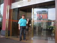 28 劉老師が坐向変換したホテルエントランス