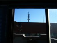 2011.1.30 講義室から臨むスカイツリー