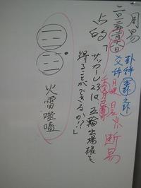 ~2012.2.18周易演習『U23日本代表はロンドン五輪に出場できるか?』~